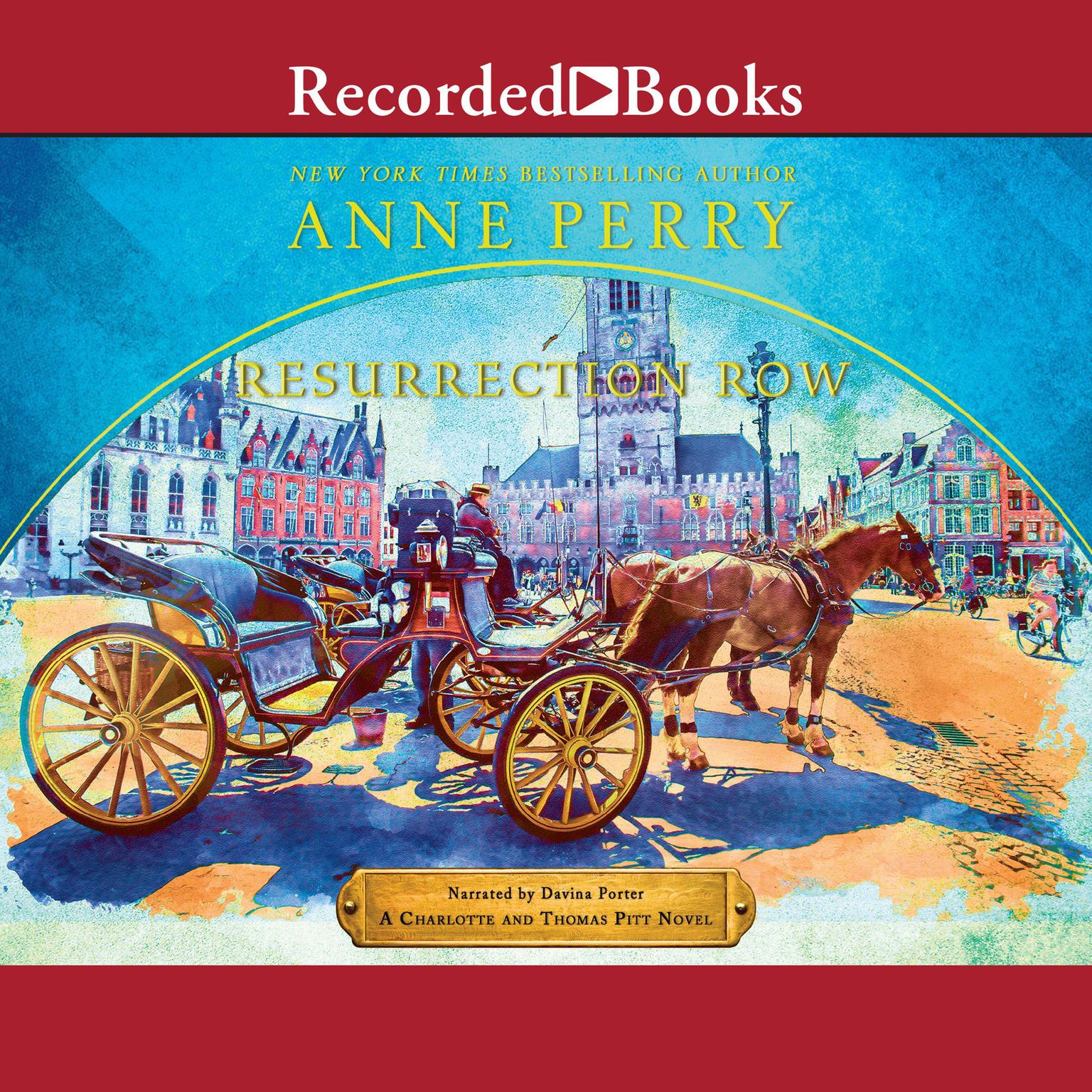 Printable Resurrection Row Audiobook Cover Art