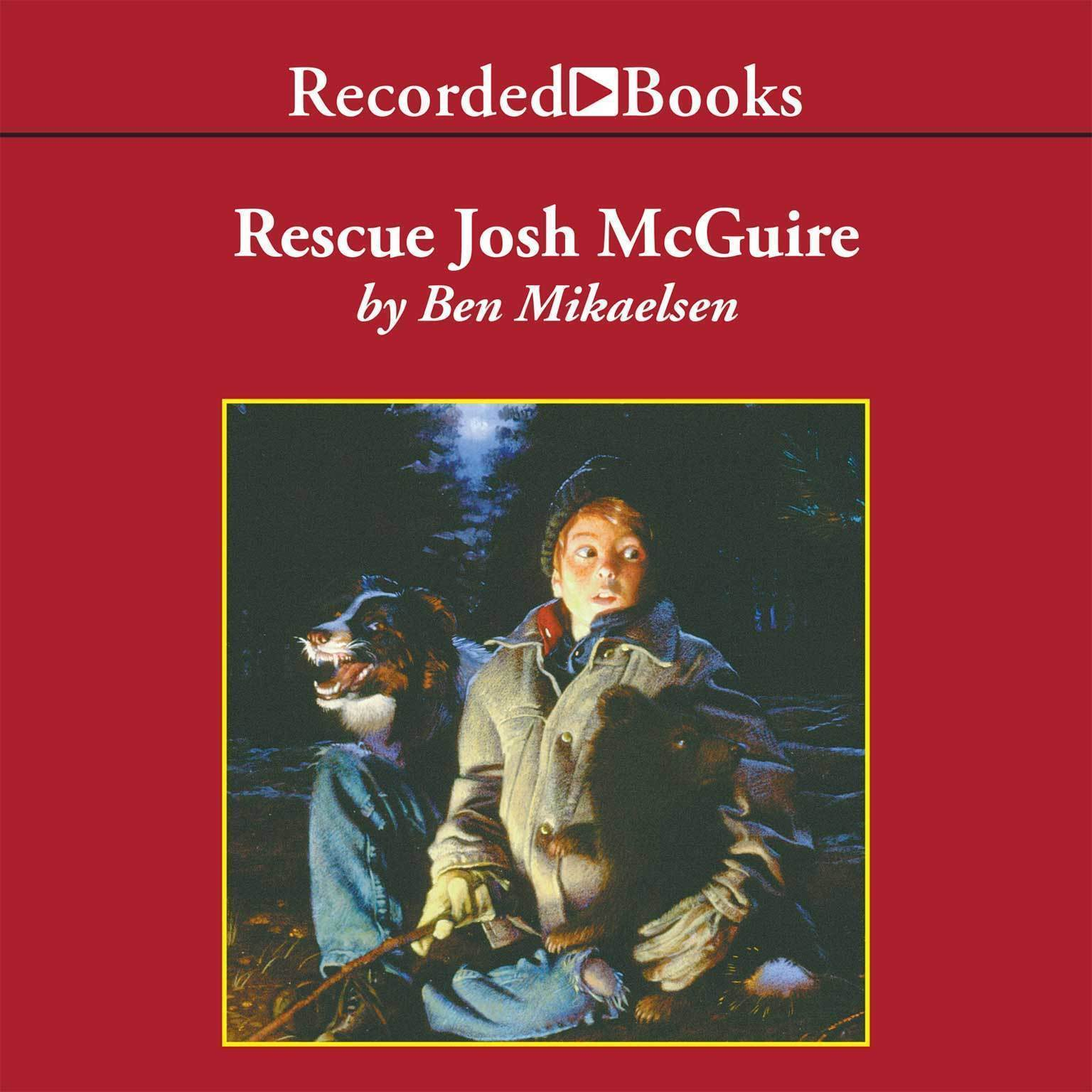 Printable Rescue Josh McGuire Audiobook Cover Art