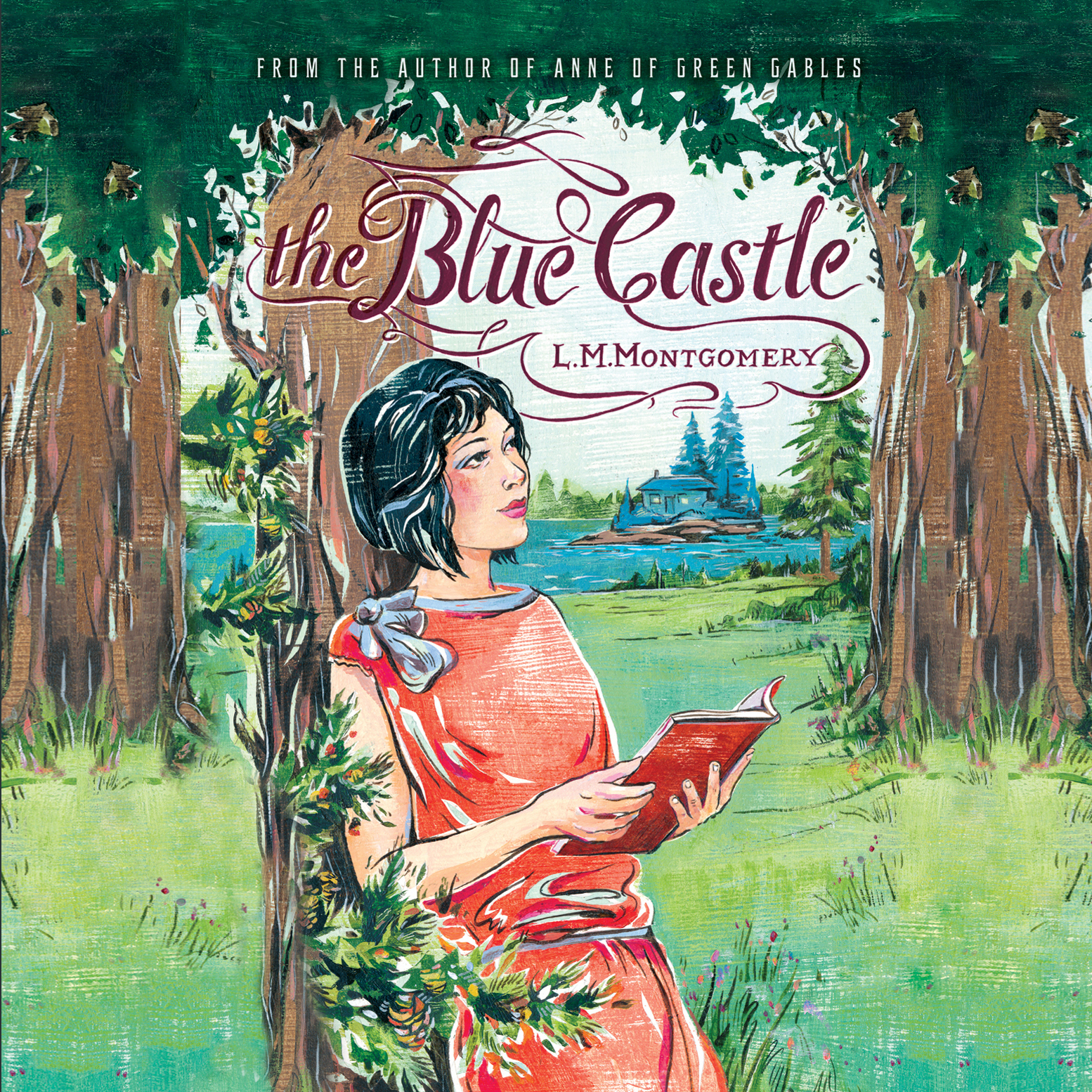 Printable The Blue Castle Audiobook Cover Art