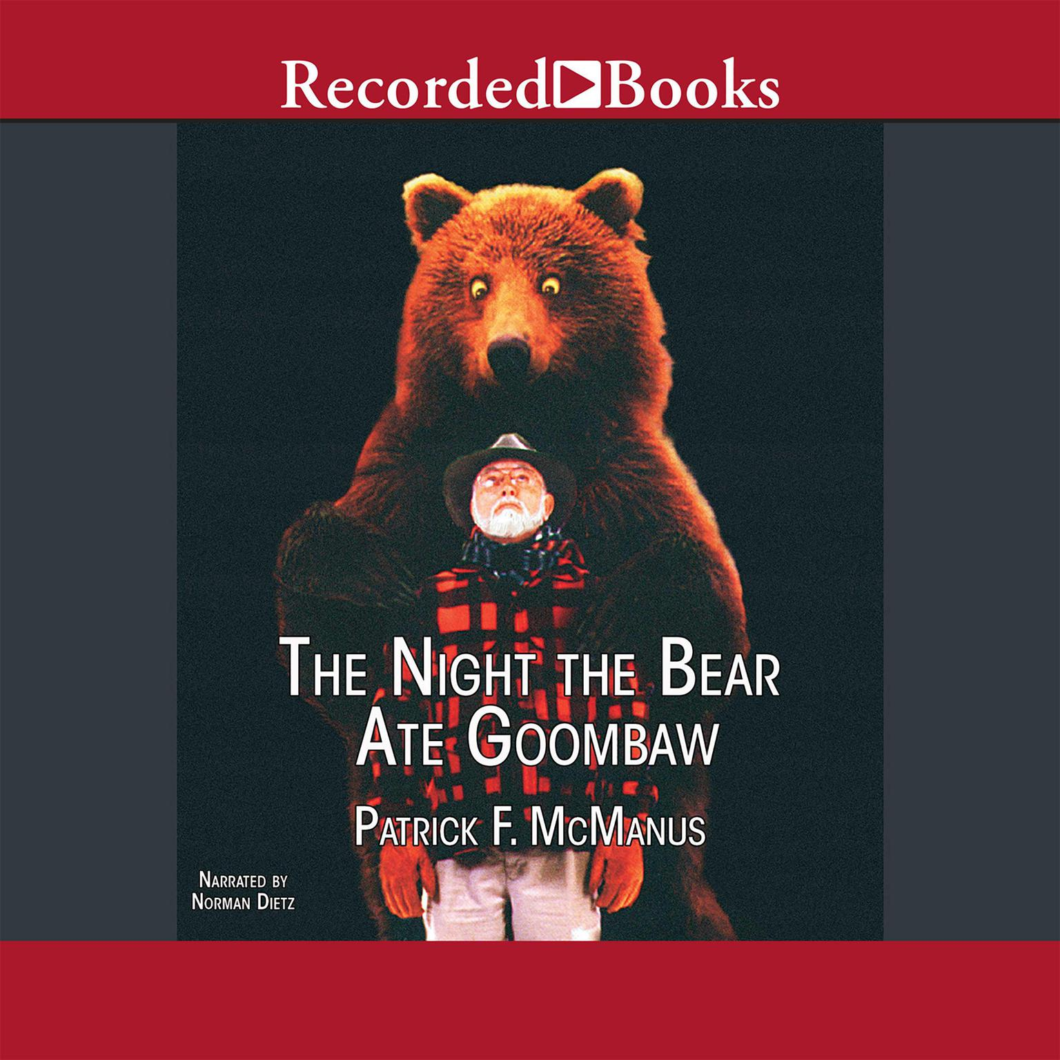 Printable The Night the Bear Ate Goombaw Audiobook Cover Art