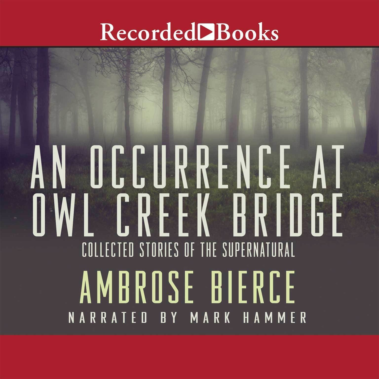 Printable Occurrence at Owl Creek Bridge, An Audiobook Cover Art