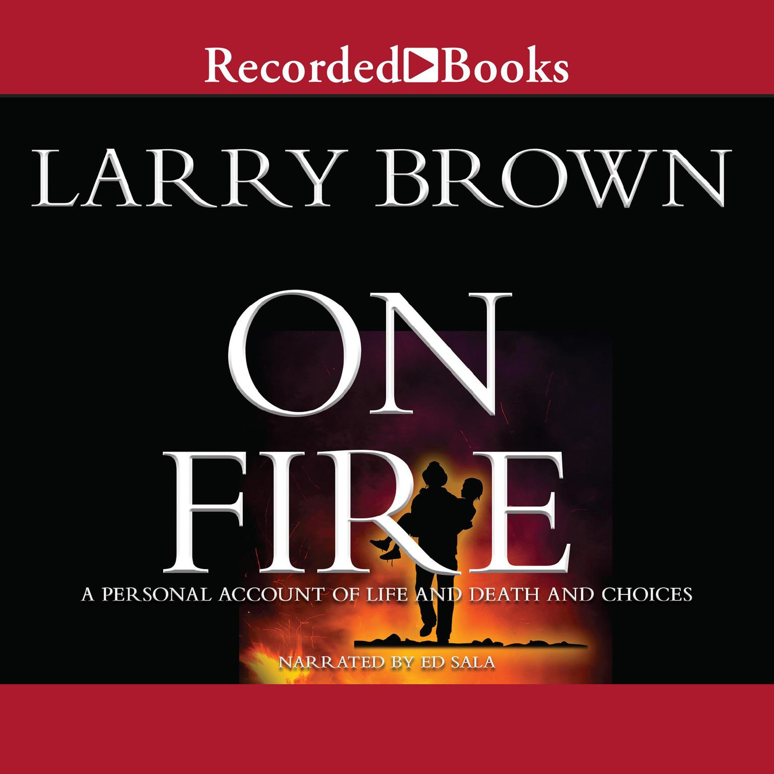 Printable On Fire Audiobook Cover Art