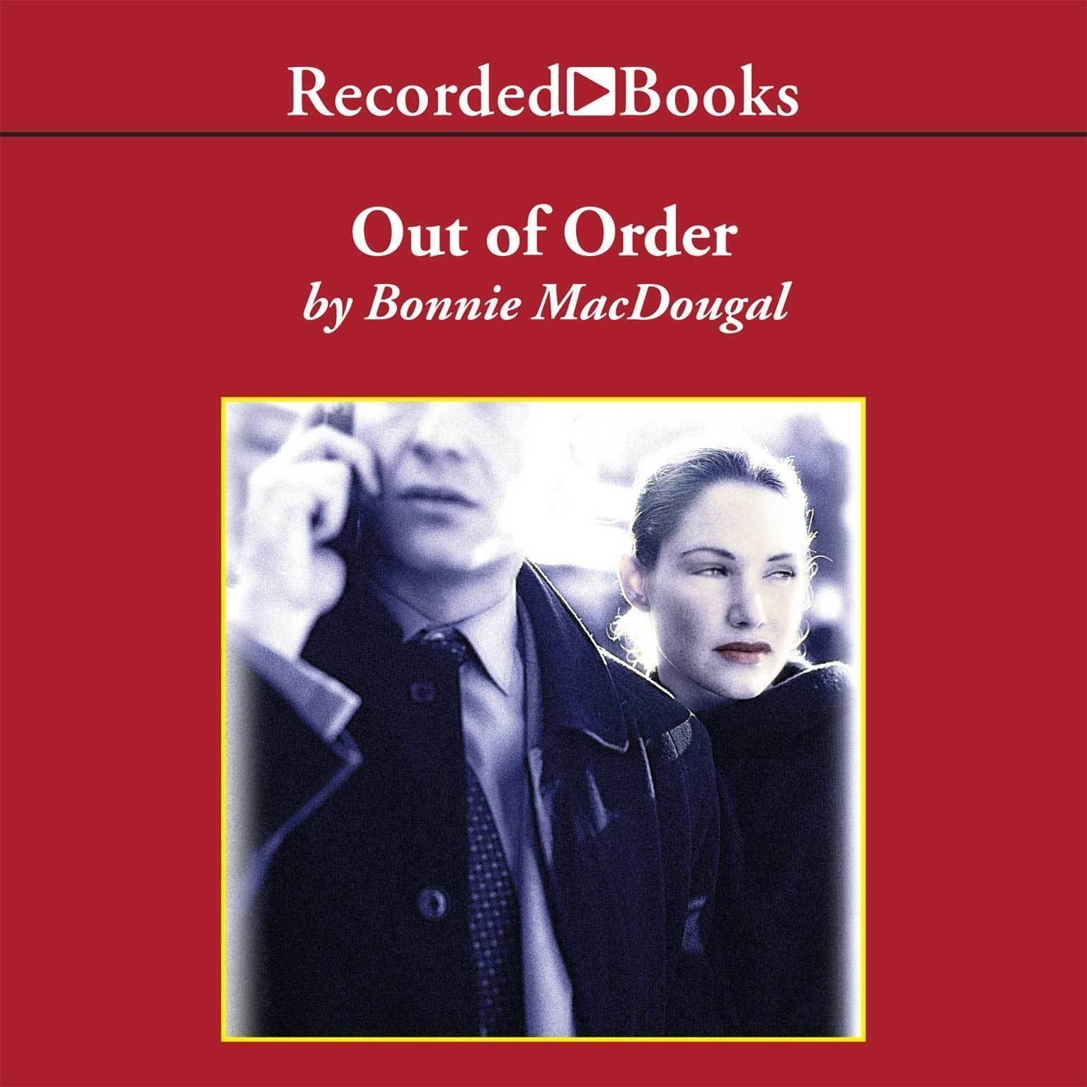Printable Out of Order Audiobook Cover Art