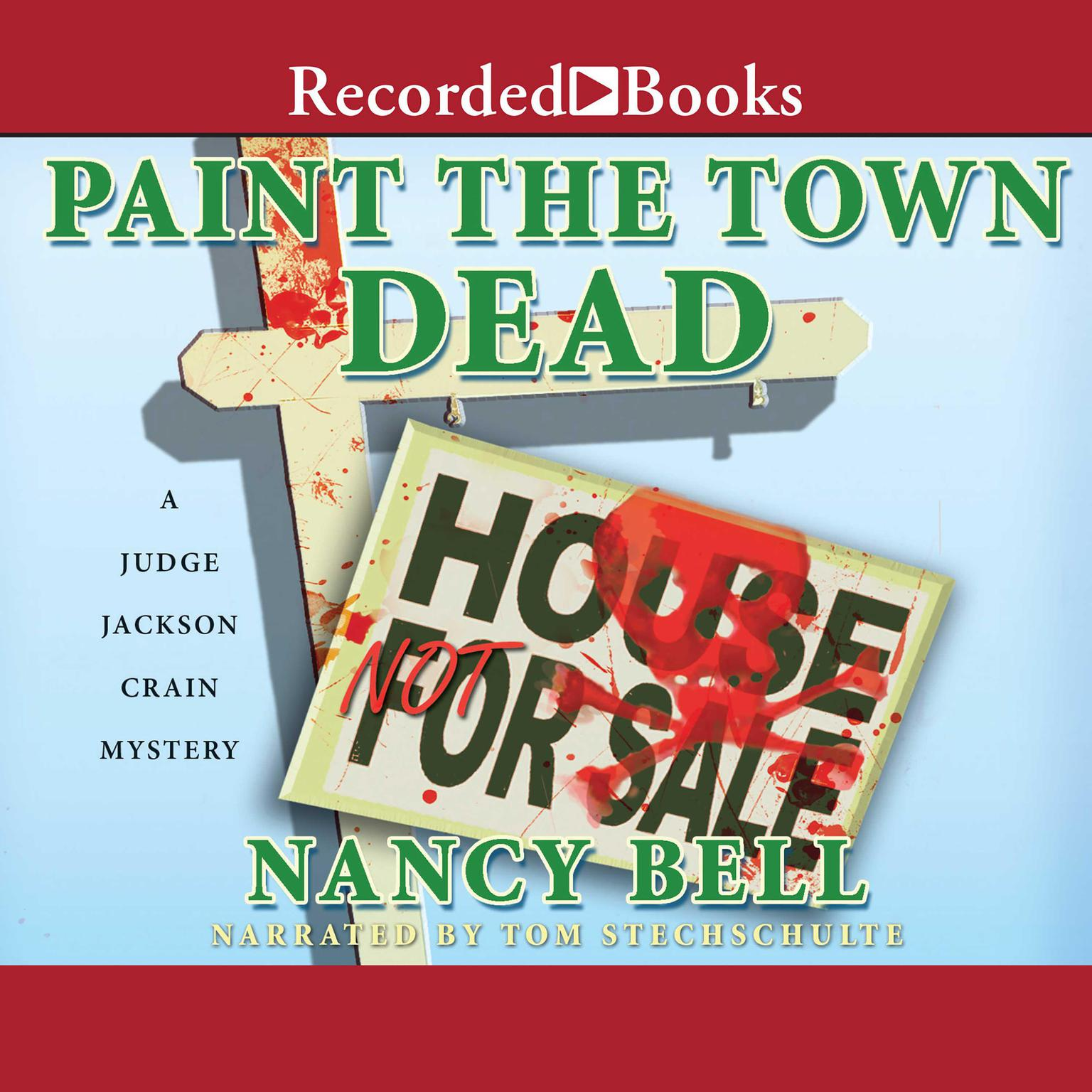 Printable Paint the Town Dead Audiobook Cover Art