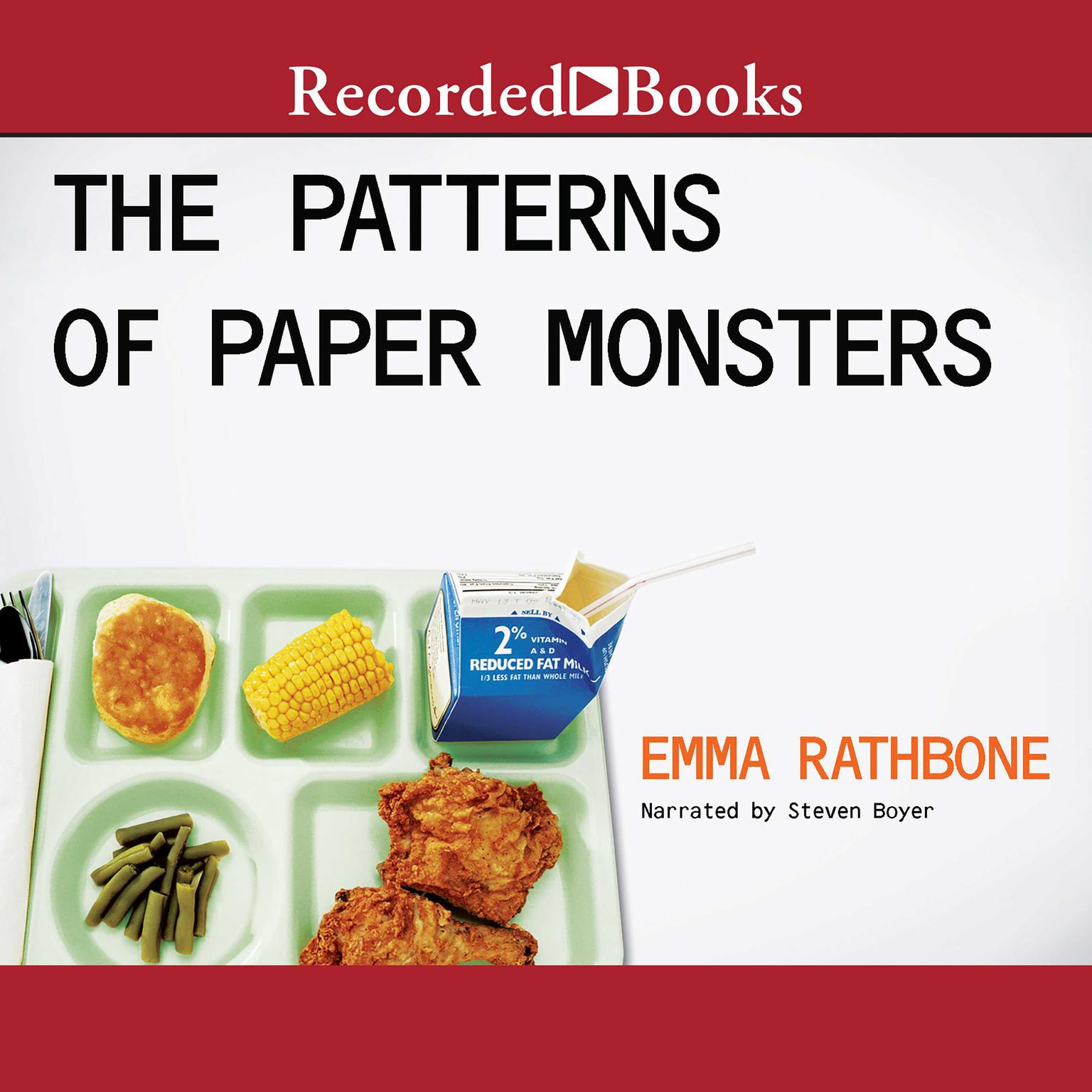 Printable The Patterns of Paper Monsters Audiobook Cover Art