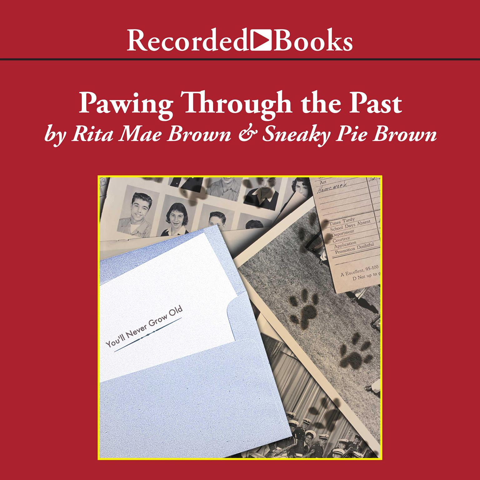 Printable Pawing Through the Past Audiobook Cover Art