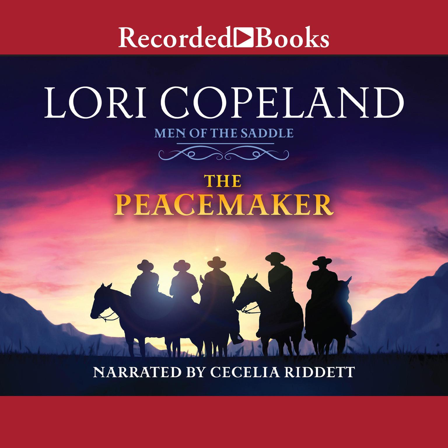 Printable The Peacemaker Audiobook Cover Art