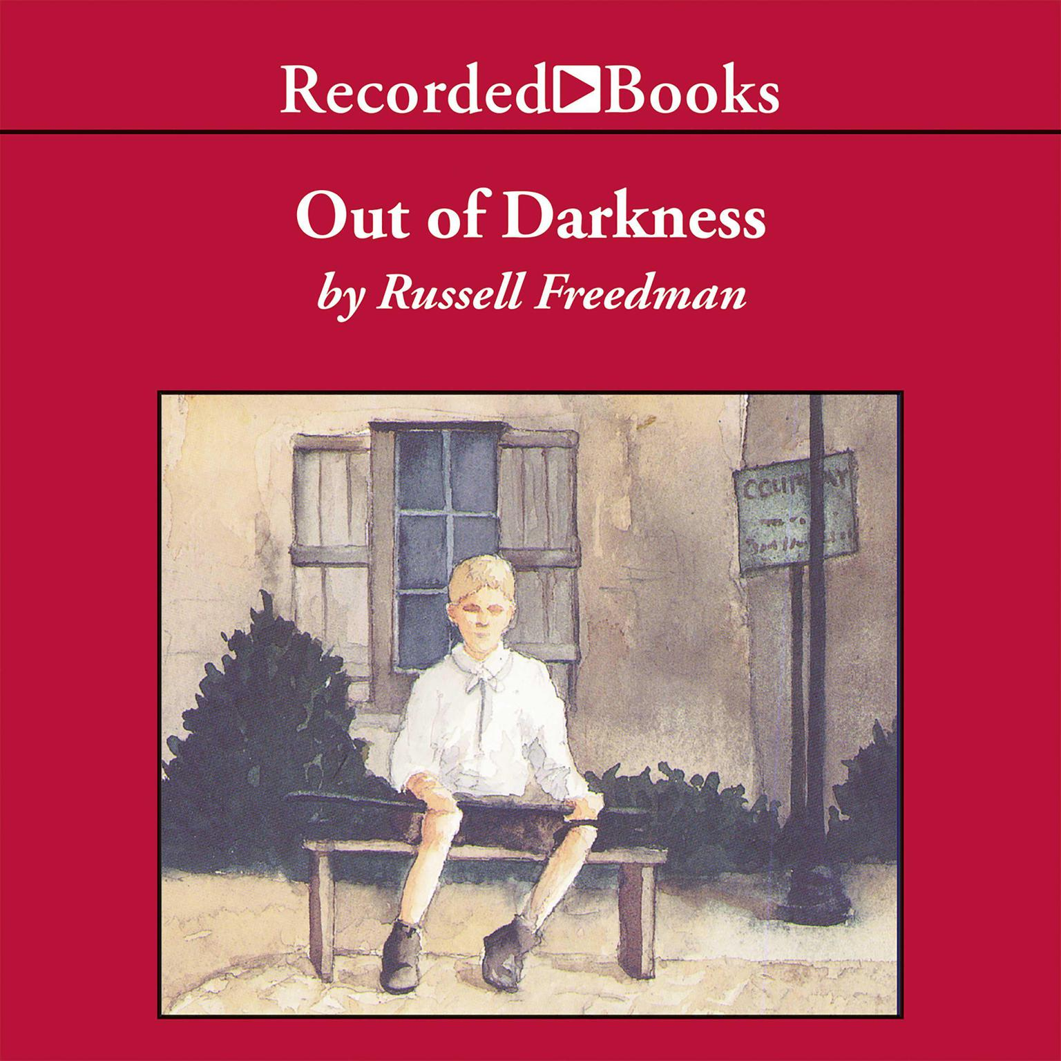 Printable Out of Darkness: The Story of Louis Braille Audiobook Cover Art