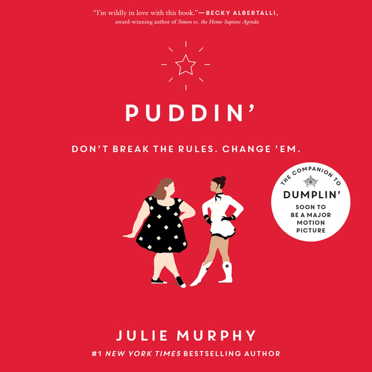 Printable Puddin' Audiobook Cover Art