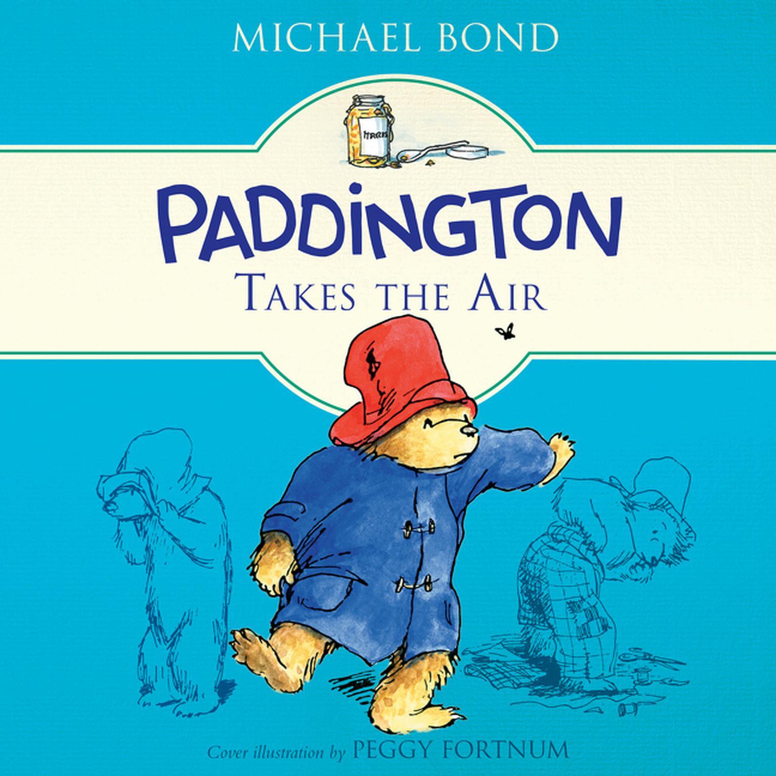 Printable Paddington Takes the Air Audiobook Cover Art