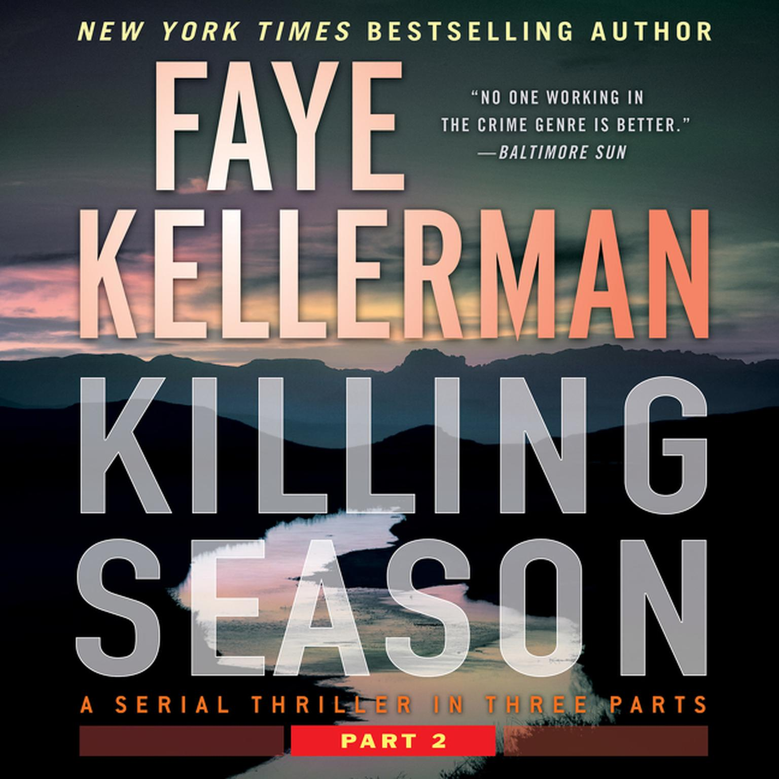 Printable Killing Season Part 2: A Serial Thriller in Three Parts Audiobook Cover Art