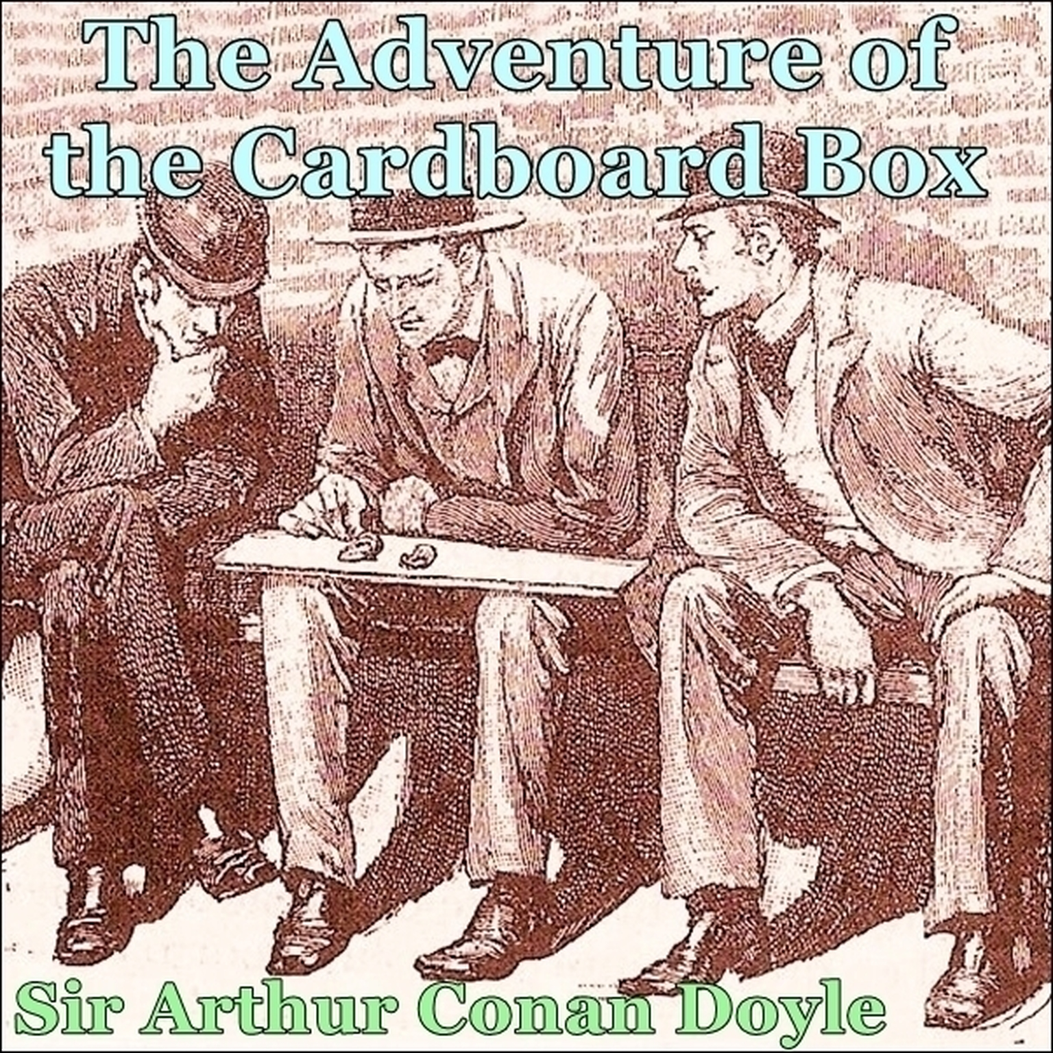 Printable Sherlock Holmes:  The Adventure of the Cardboard Box Audiobook Cover Art