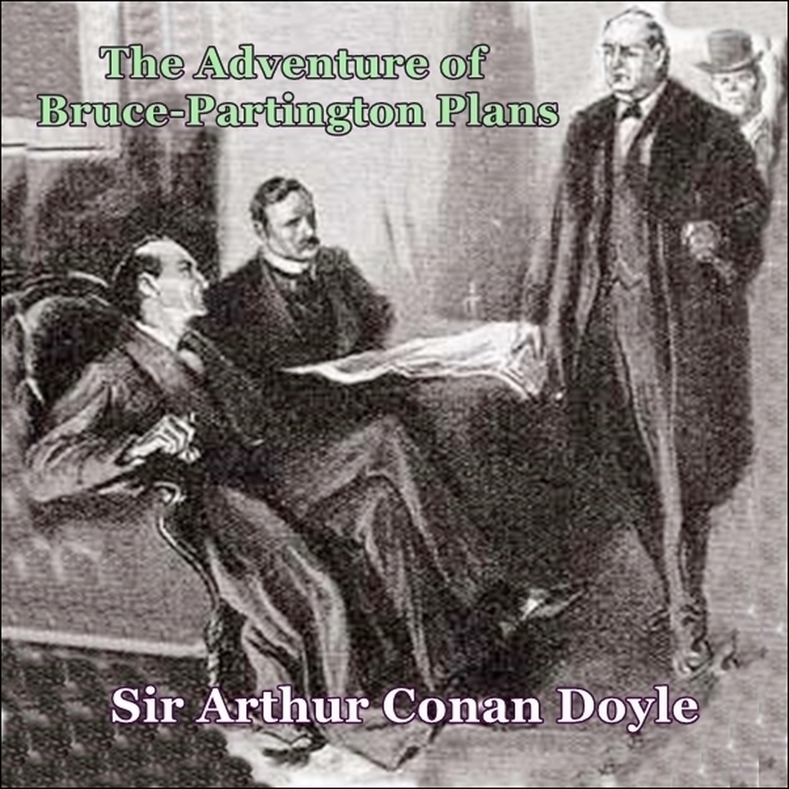 Printable Sherlock Holmes:  The Adventure of the Bruce Partington Plans Audiobook Cover Art