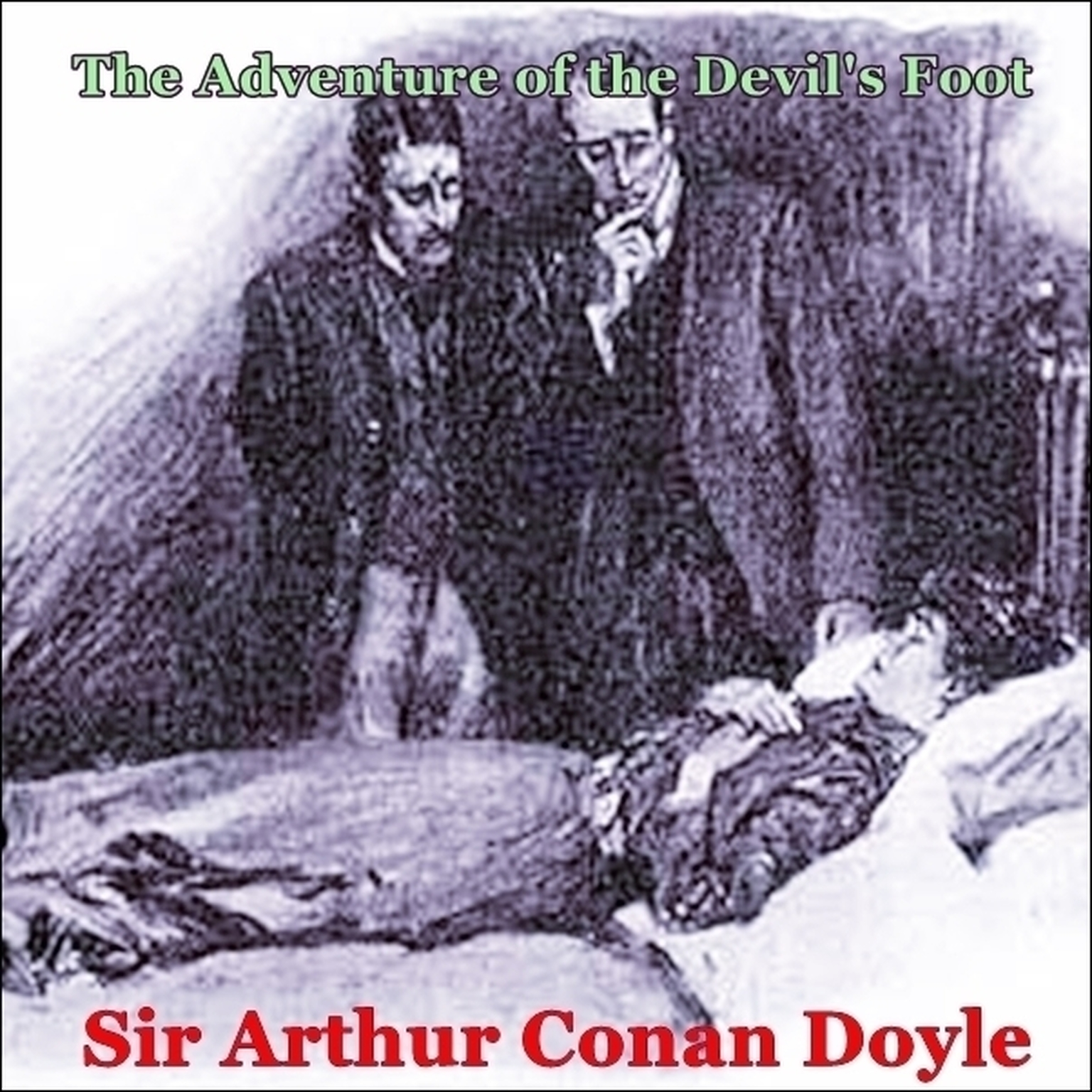 Printable Sherlock Holmes:  The Adventure of the Devil's Foot Audiobook Cover Art