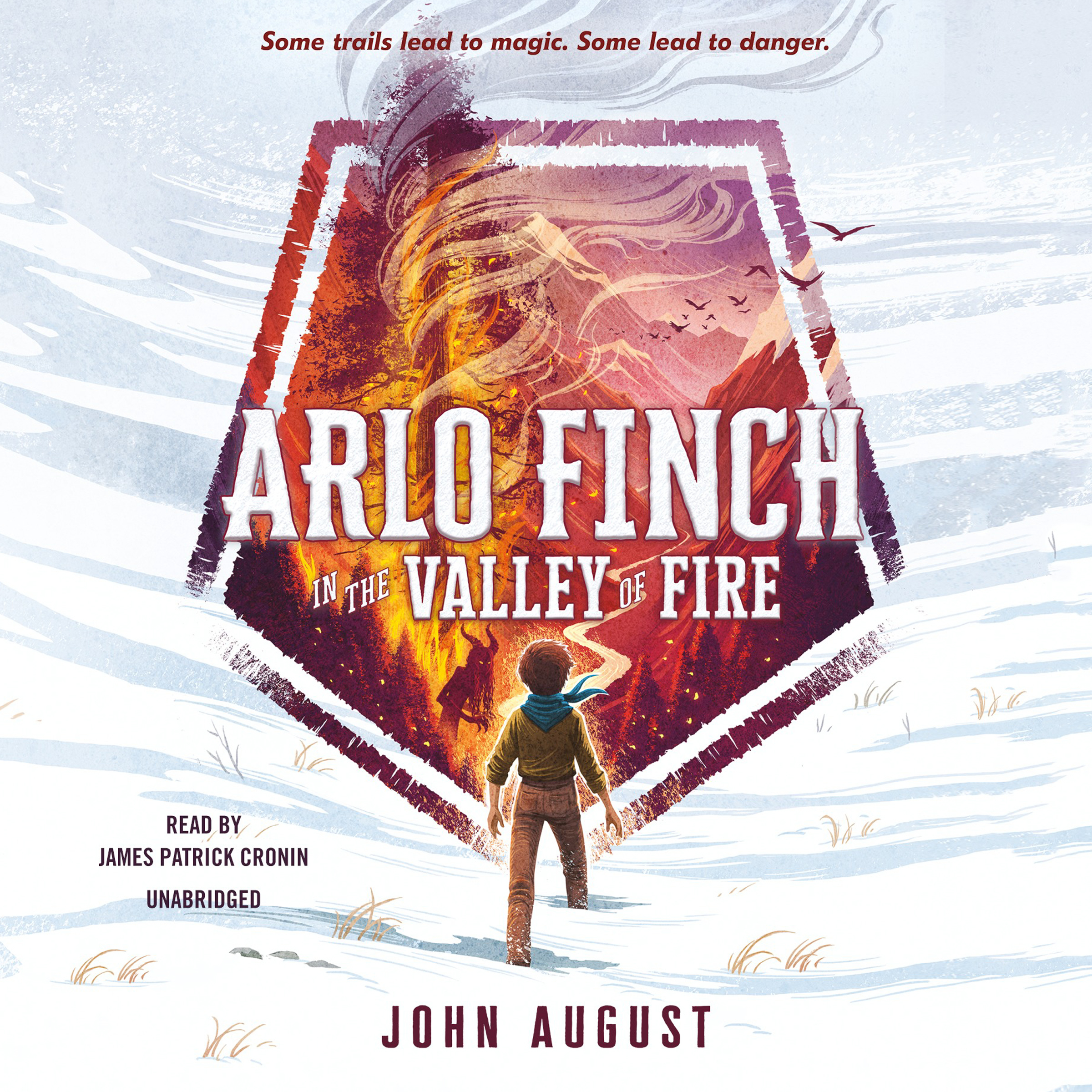Printable Arlo Finch in the Valley of Fire Audiobook Cover Art