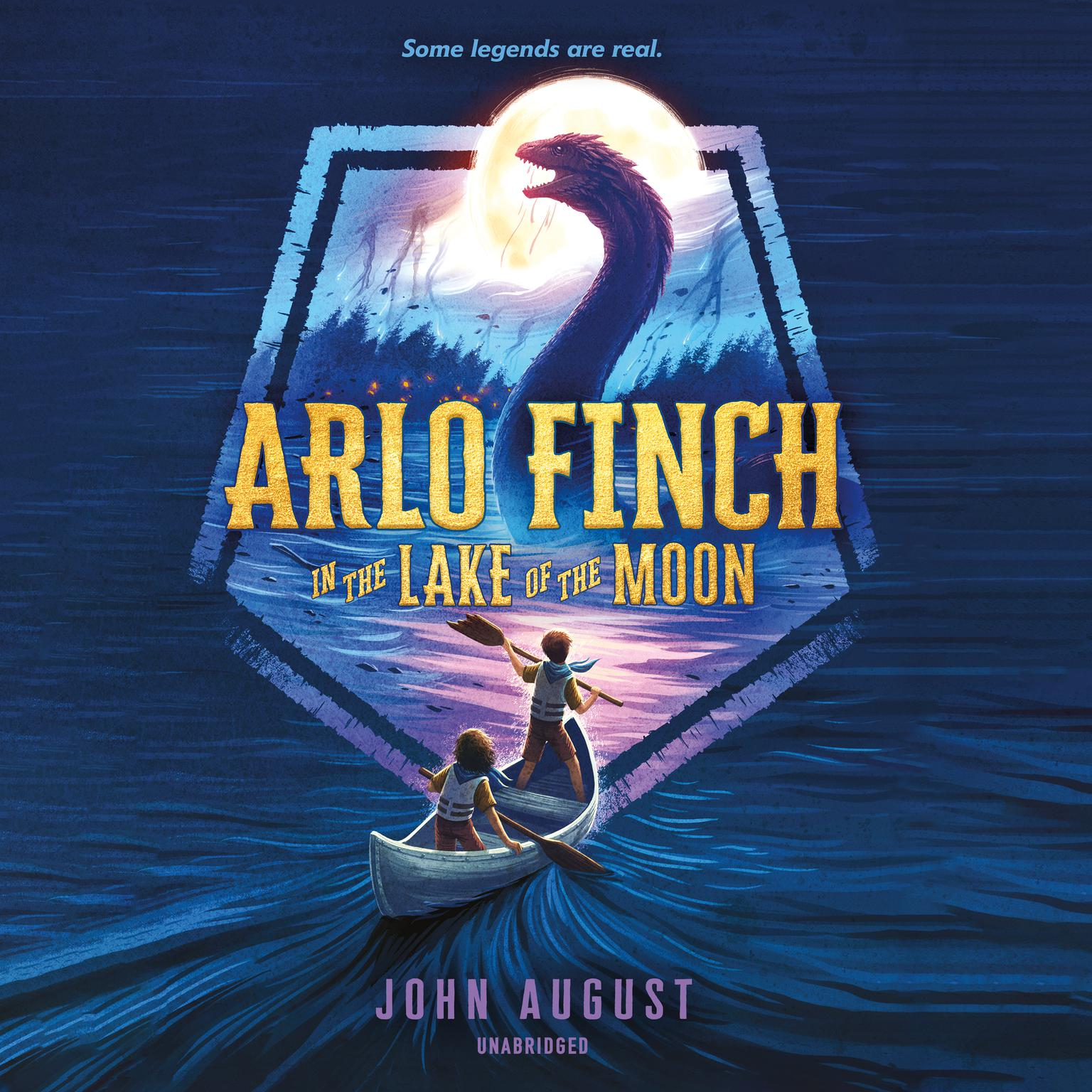 Printable Arlo Finch in the Lake of the Moon Audiobook Cover Art