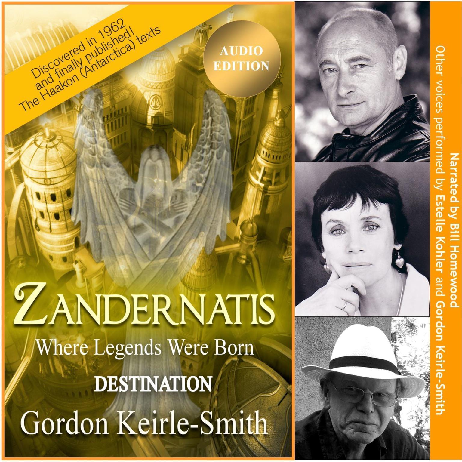Zandernatis - Volume Two - Destination Audiobook, by Gordon Keirle-Smith