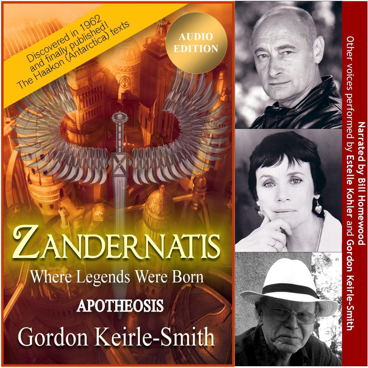 Zandernatis - Volume Three - Apotheosis Audiobook, by Gordon Keirle-Smith