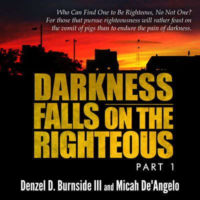 Darkness Falls On The Righteous Audiobook, by Denzel D. Burnside
