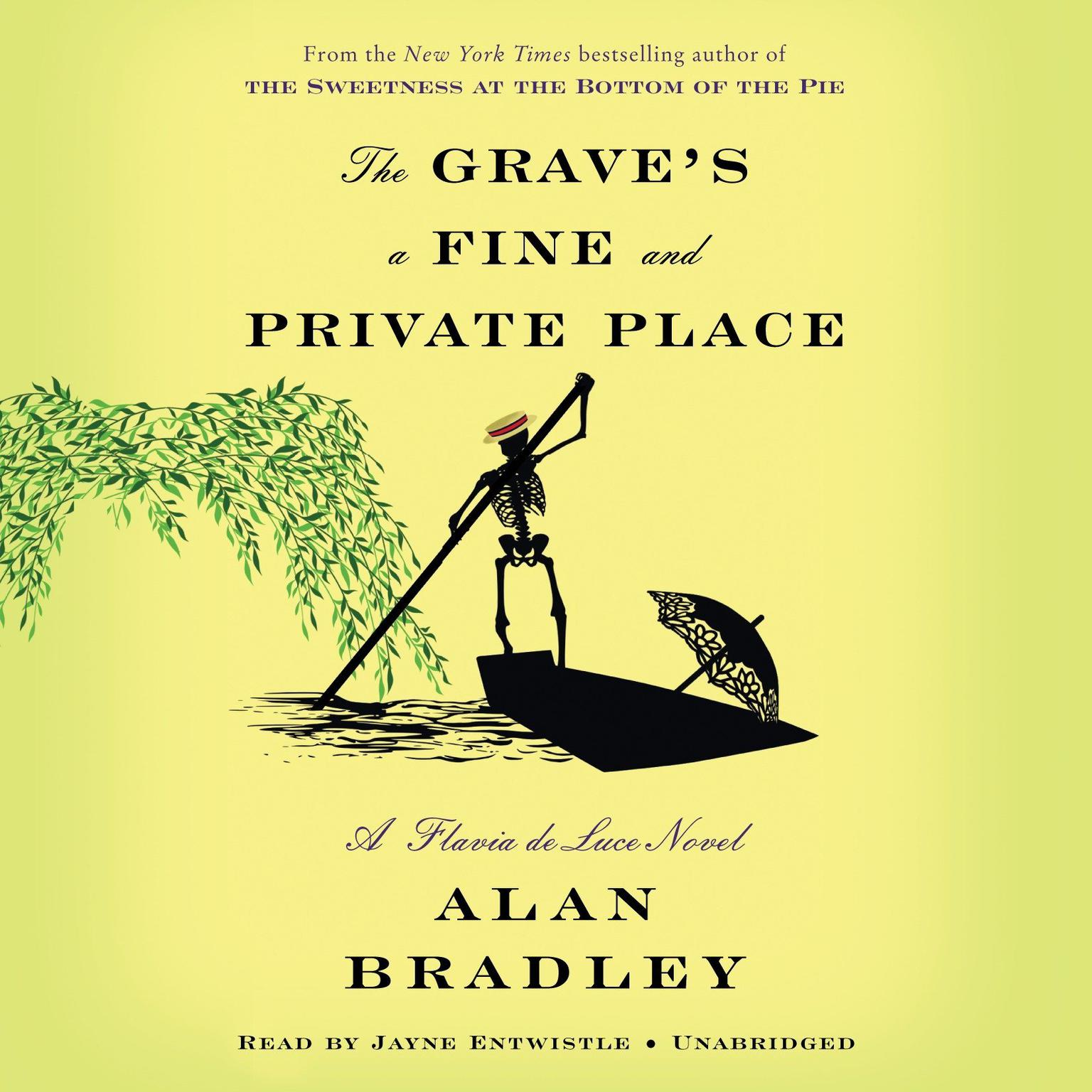 Printable The Grave's a Fine and Private Place: A Flavia de Luce Novel Audiobook Cover Art