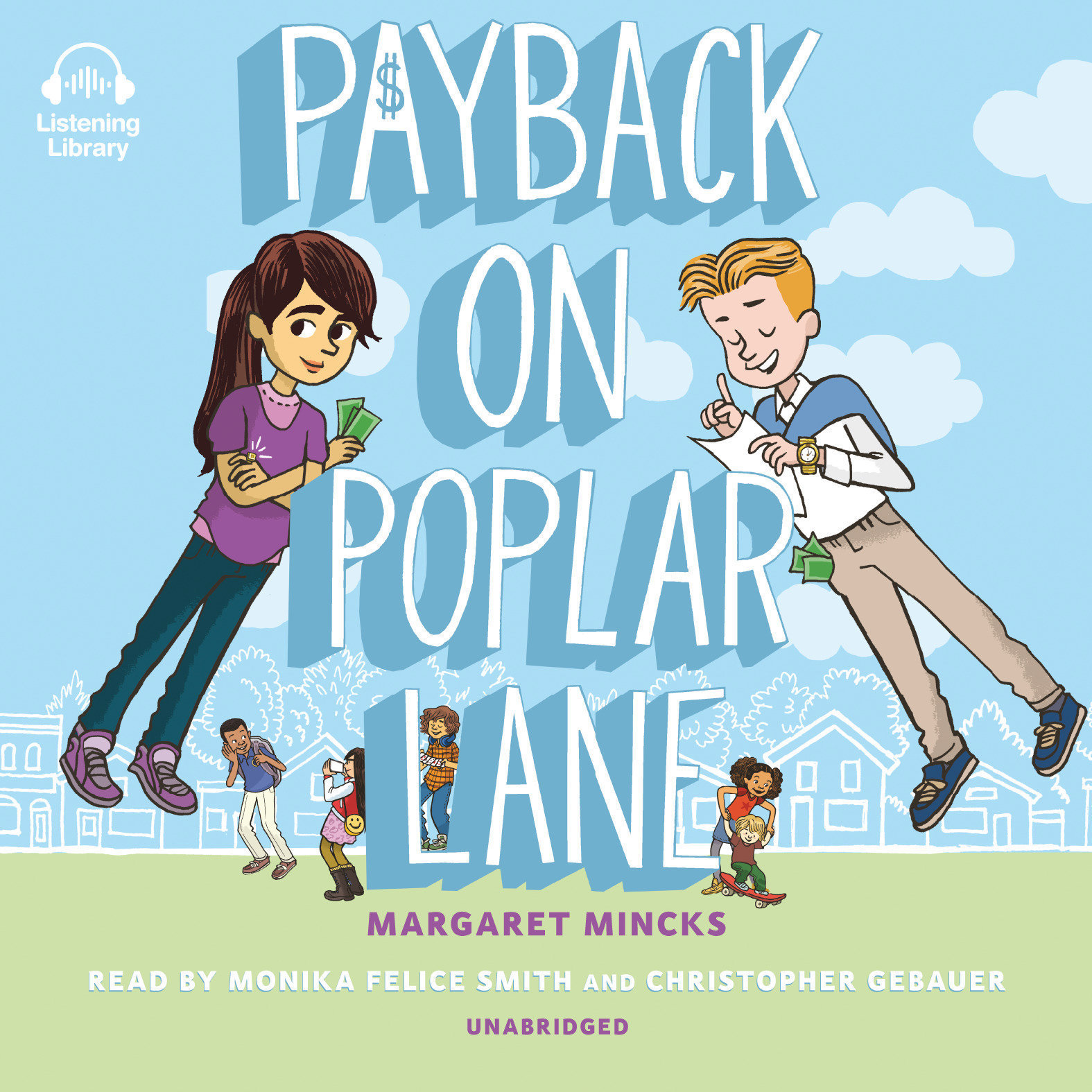 Printable Payback on Poplar Lane Audiobook Cover Art