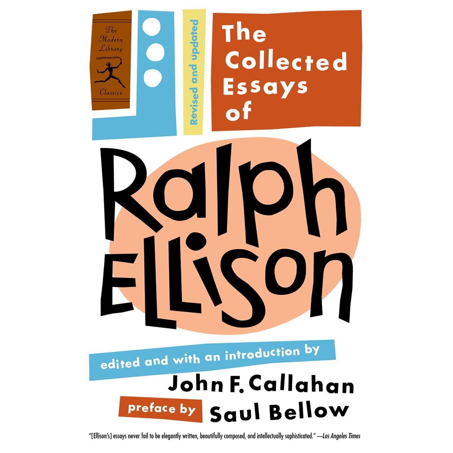 The Collected Essays of Ralph Ellison Audiobook, by Ralph Ellison