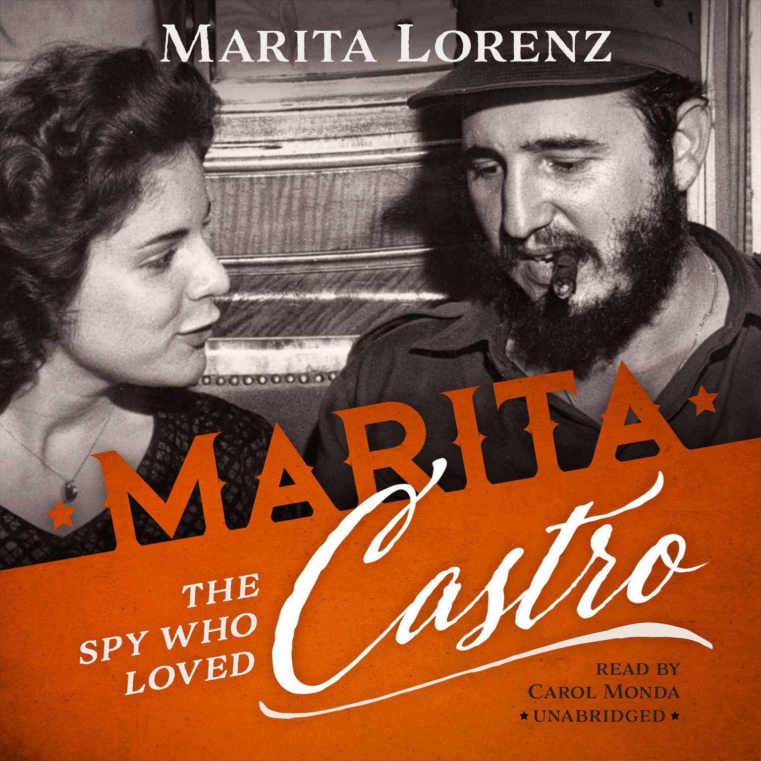 Printable Marita: The Spy Who Loved Castro Audiobook Cover Art