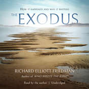 The Exodus Audiobook, by Richard Elliott Friedman