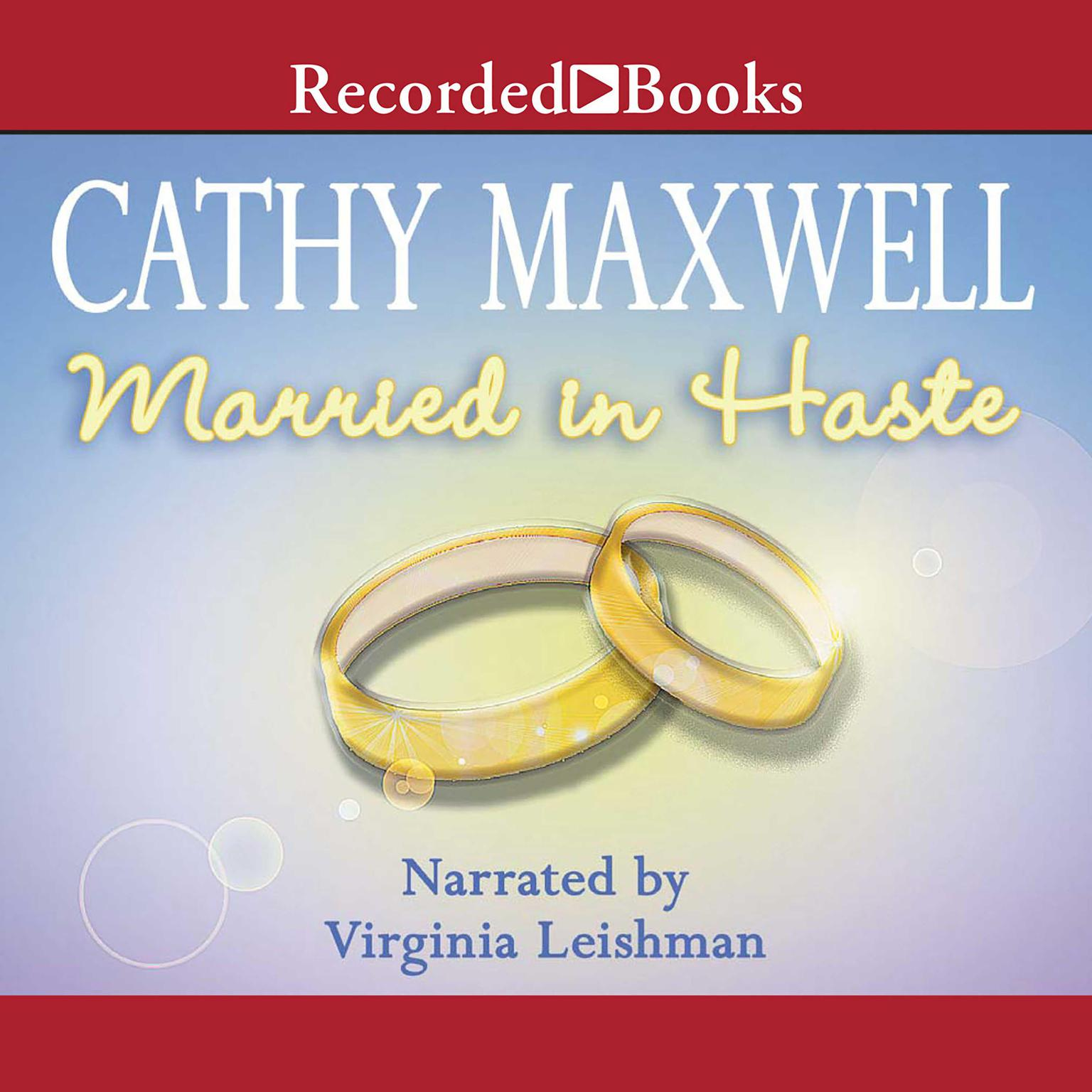 Printable Married in Haste Audiobook Cover Art