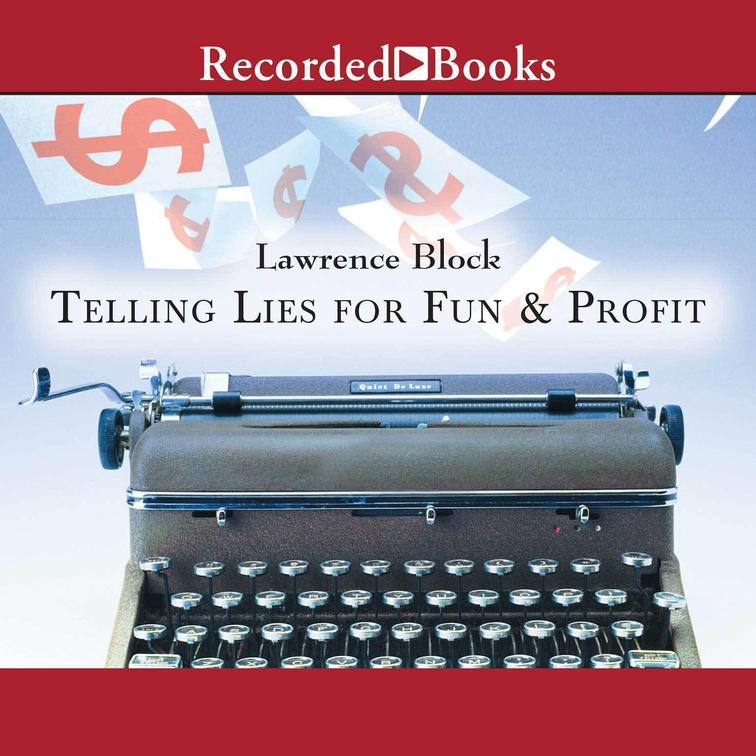 Printable Telling Lies for Fun and Profit: A Manual for Fiction Writers Audiobook Cover Art