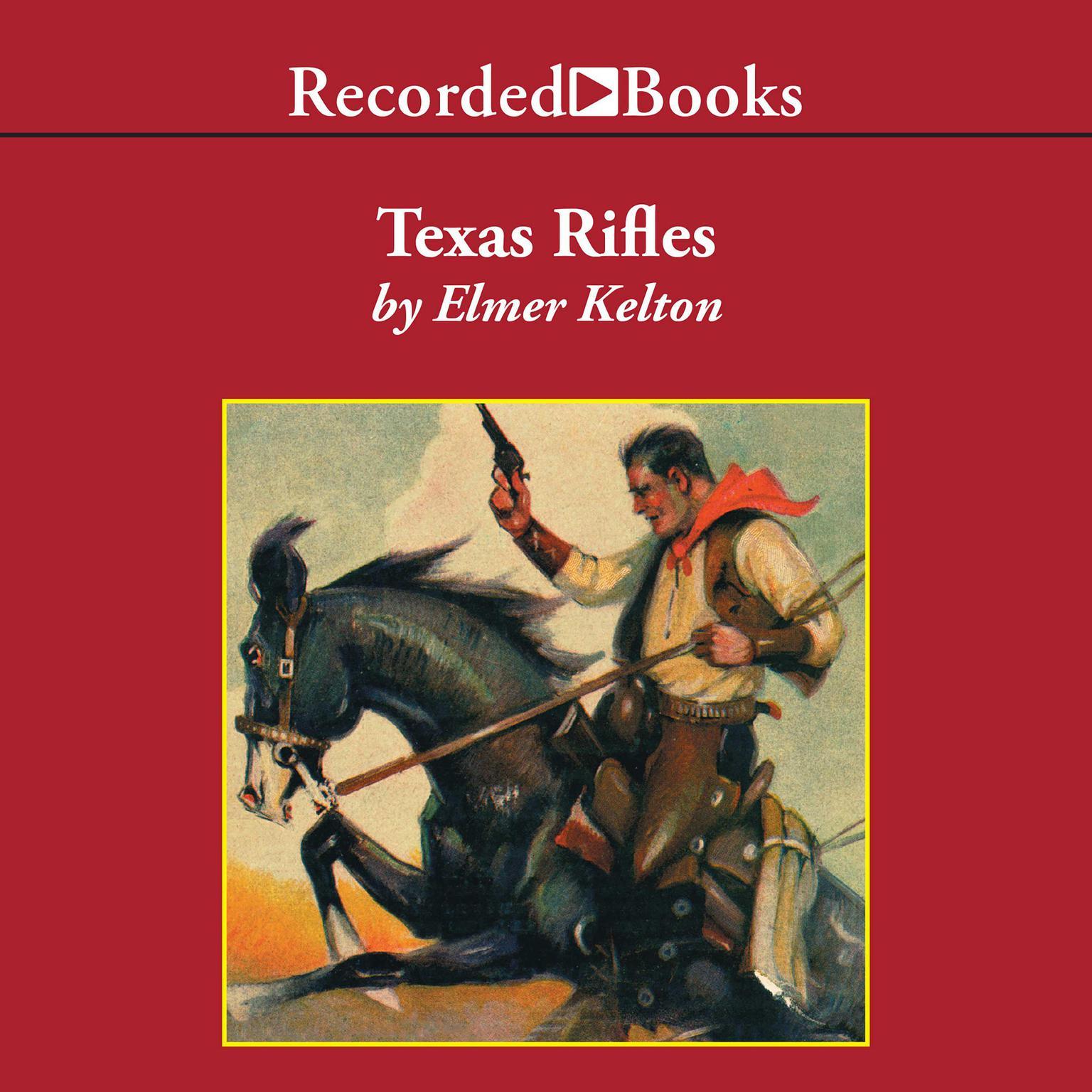 Printable Texas Rifles Audiobook Cover Art