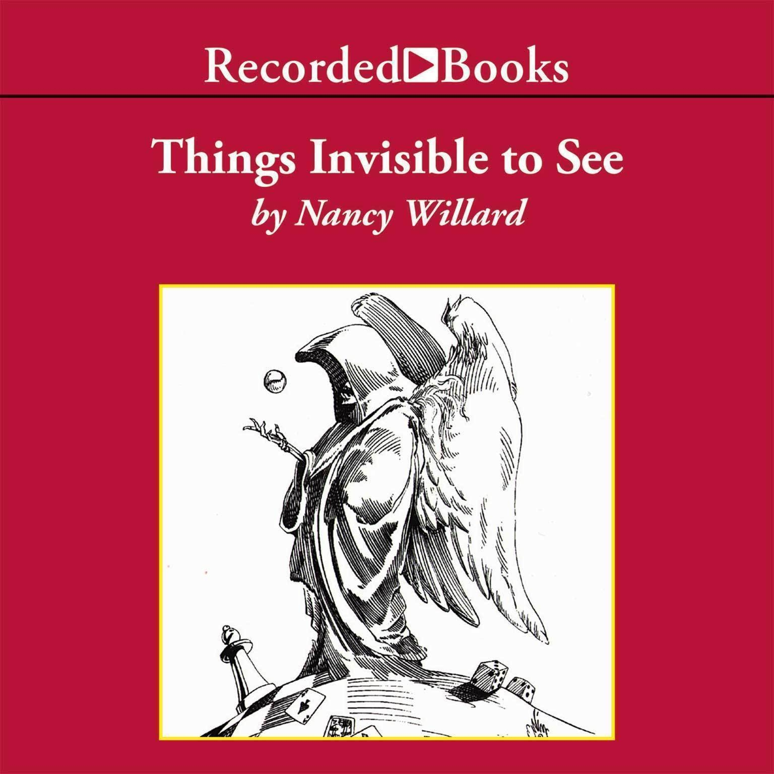 Printable Things Invisible to See Audiobook Cover Art