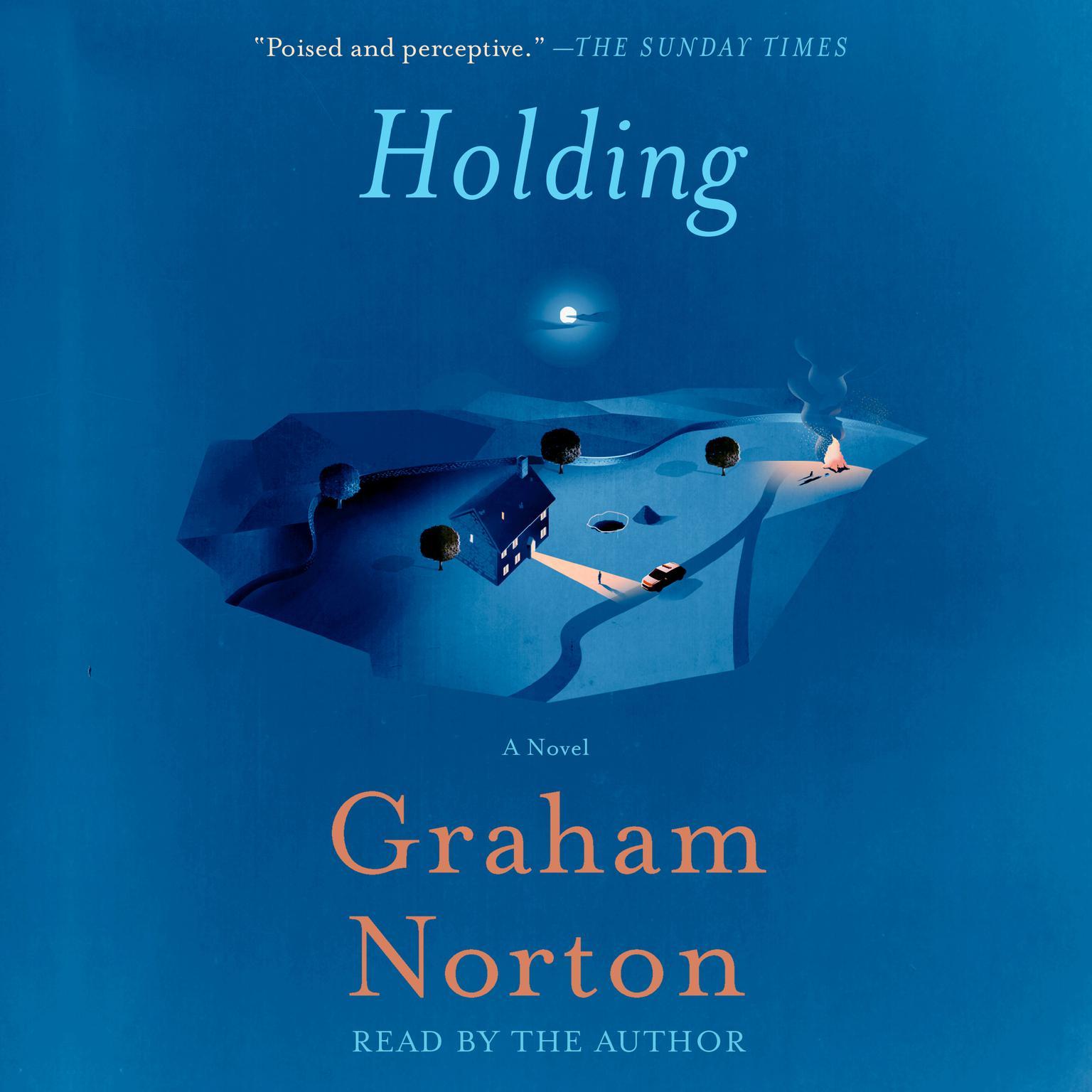 Printable Holding: A Novel Audiobook Cover Art
