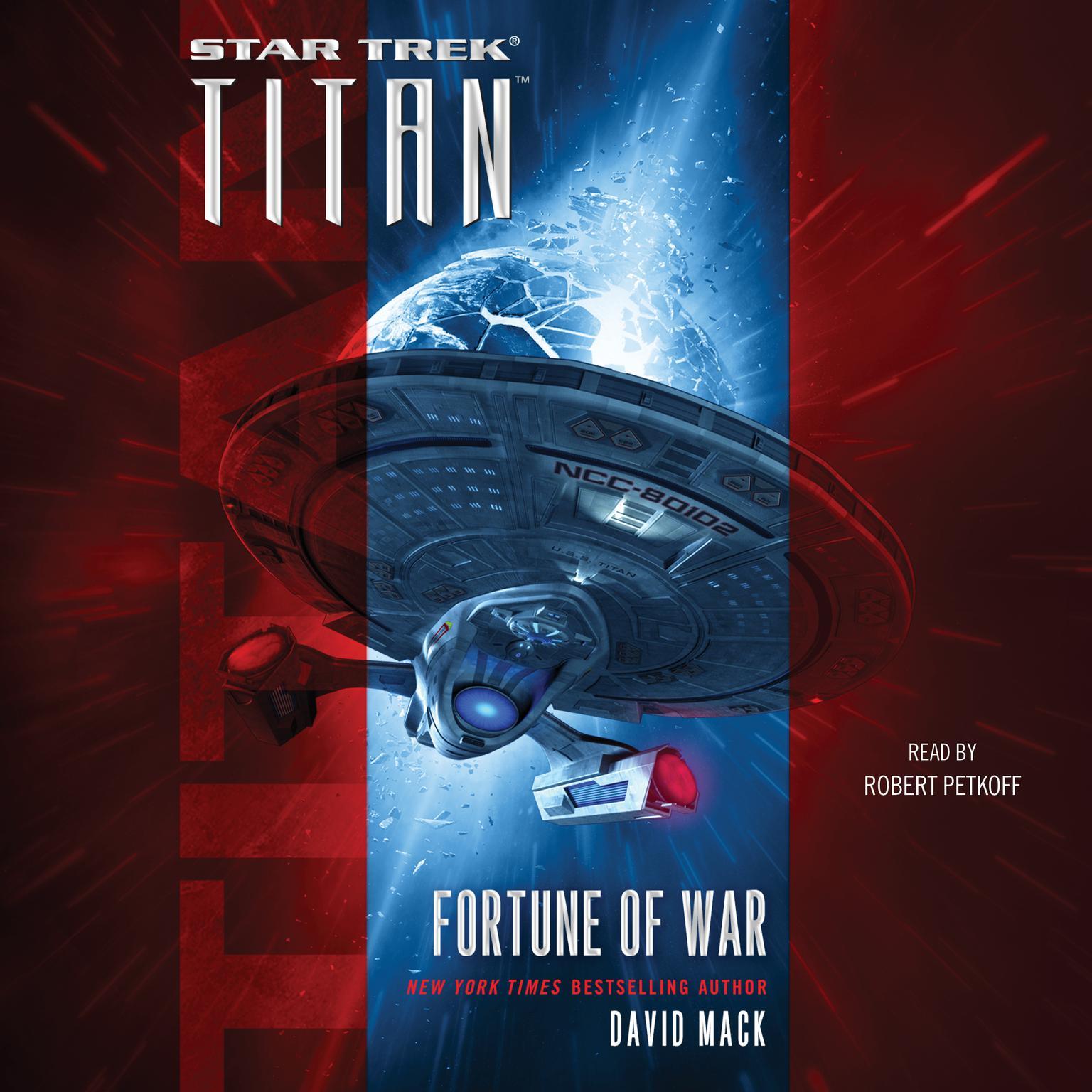 Printable Titan: Fortune of War: Fortune of War Audiobook Cover Art