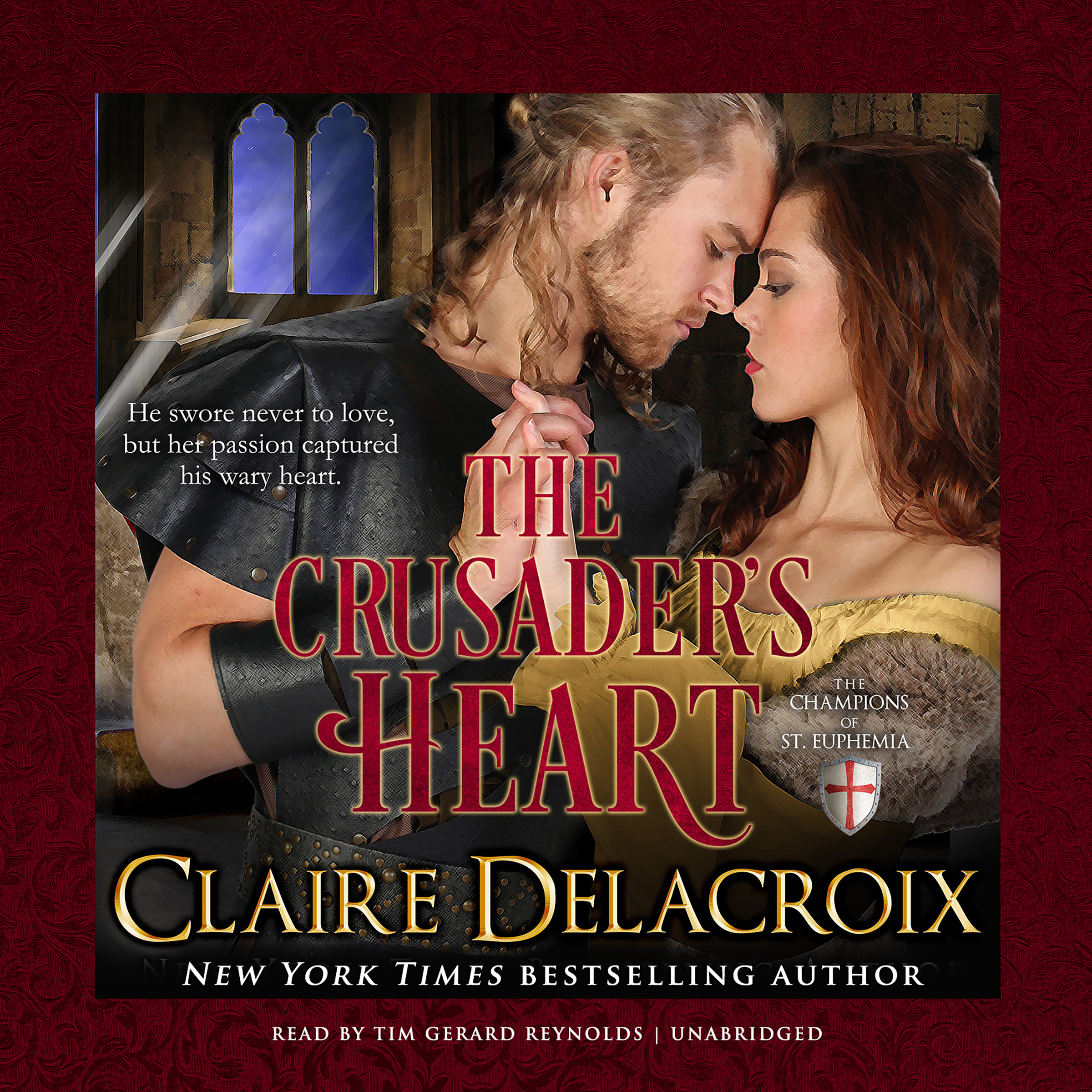 Printable The Crusader's Heart Audiobook Cover Art