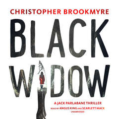Black Widow: A Jack Parlabane Thriller Audiobook, by Christopher Brookmyre