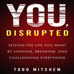 You, Disrupted: Seizing the Life You Want by Shaking, Breaking, and Challenging Everything Audiobook, by Todd Mitchem