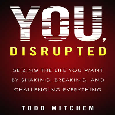 You, Disrupted: Seizing the Life You Want by Shaking, Breaking, and Challenging Everything Audiobook, by