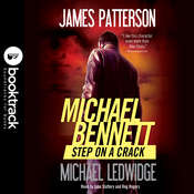 Step on a Crack: Booktrack Edition Audiobook, by James Patterson, Michael Ledwidge