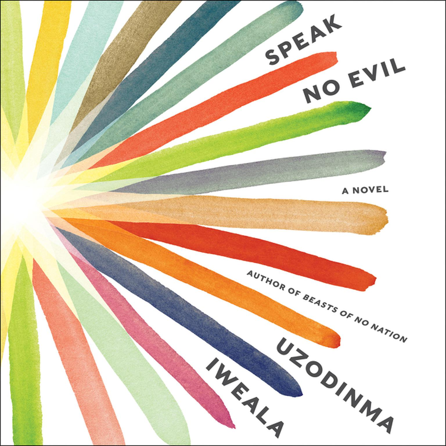 Printable Speak No Evil: A Novel Audiobook Cover Art