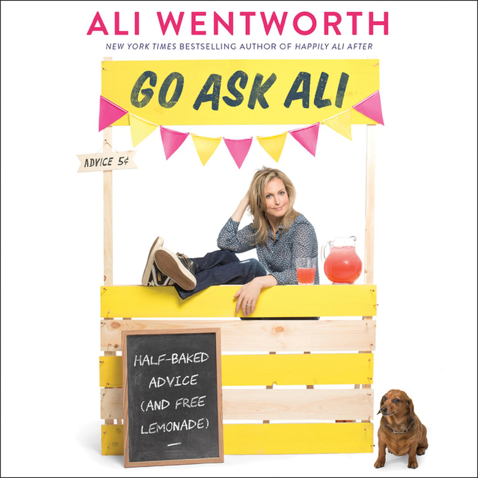 Printable Go Ask Ali: Half-Baked Advice (and Free Lemonade) Audiobook Cover Art