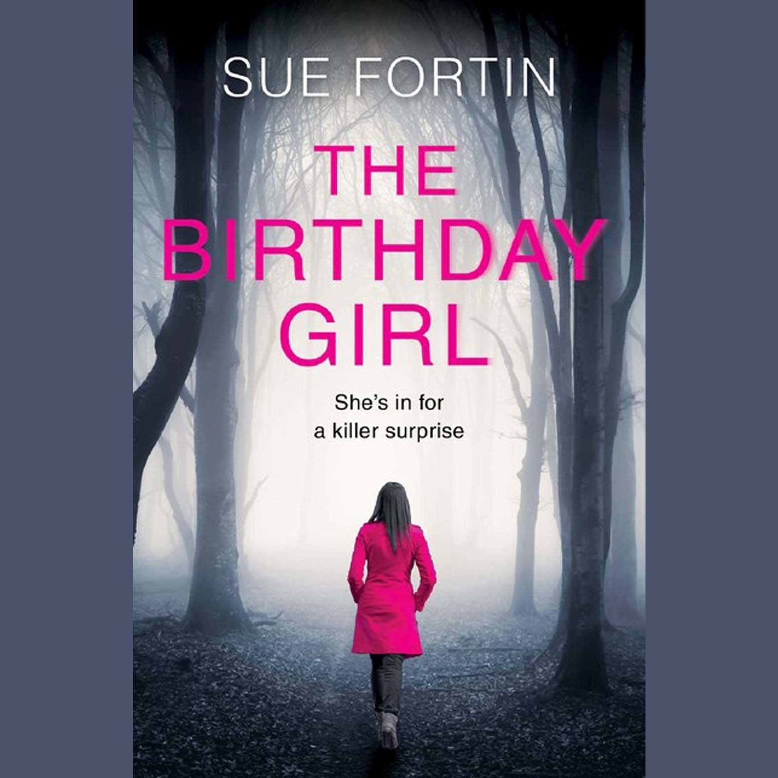 Printable The Birthday Girl Audiobook Cover Art