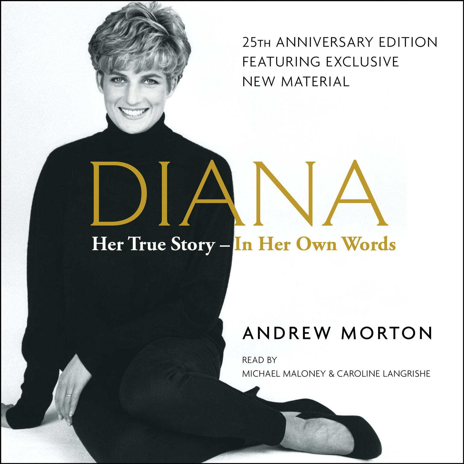 Printable Diana: Her True Story in Her Own Words Audiobook Cover Art