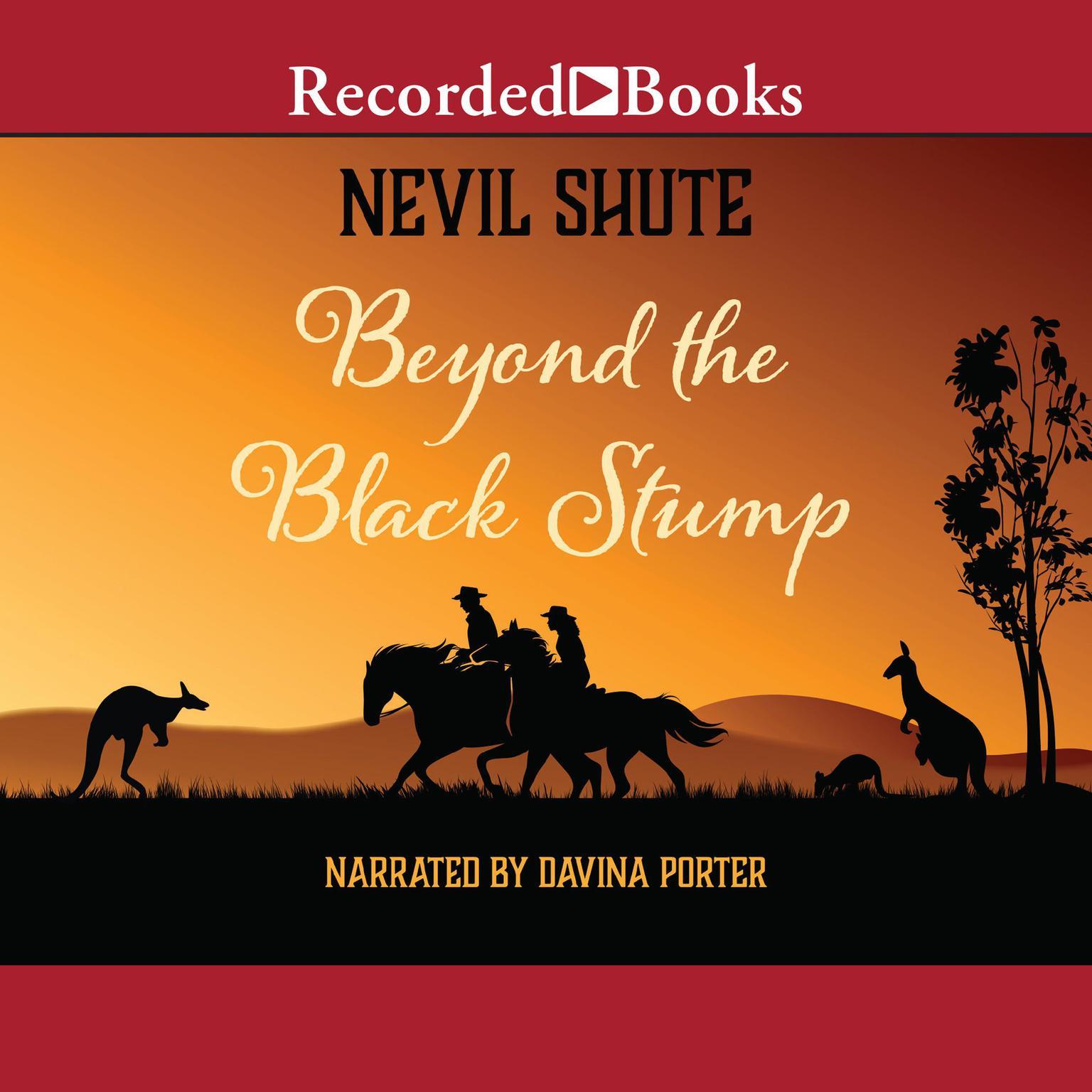 Printable Beyond the Black Stump Audiobook Cover Art