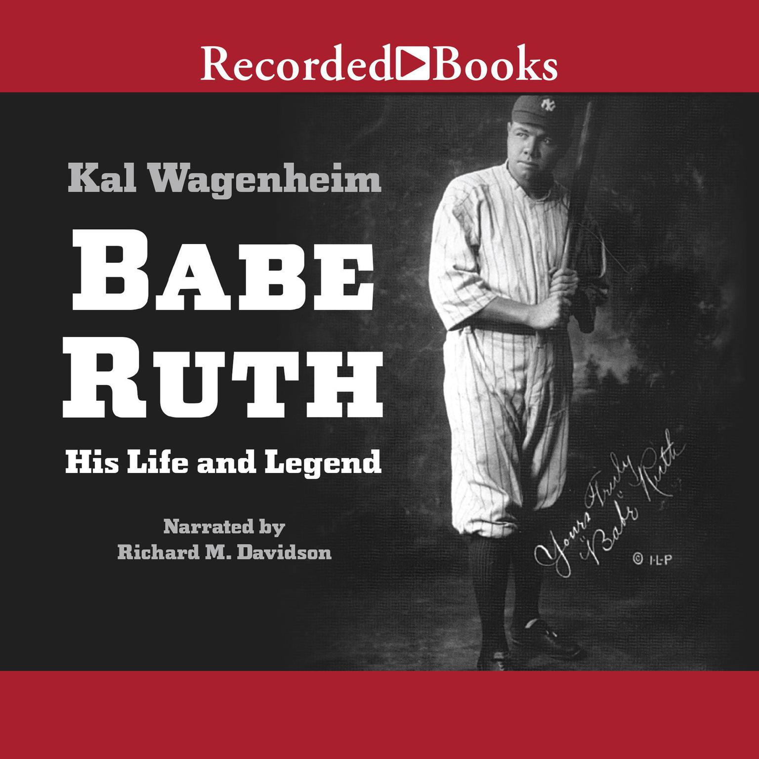 Printable Babe Ruth: His Life and Legend Audiobook Cover Art