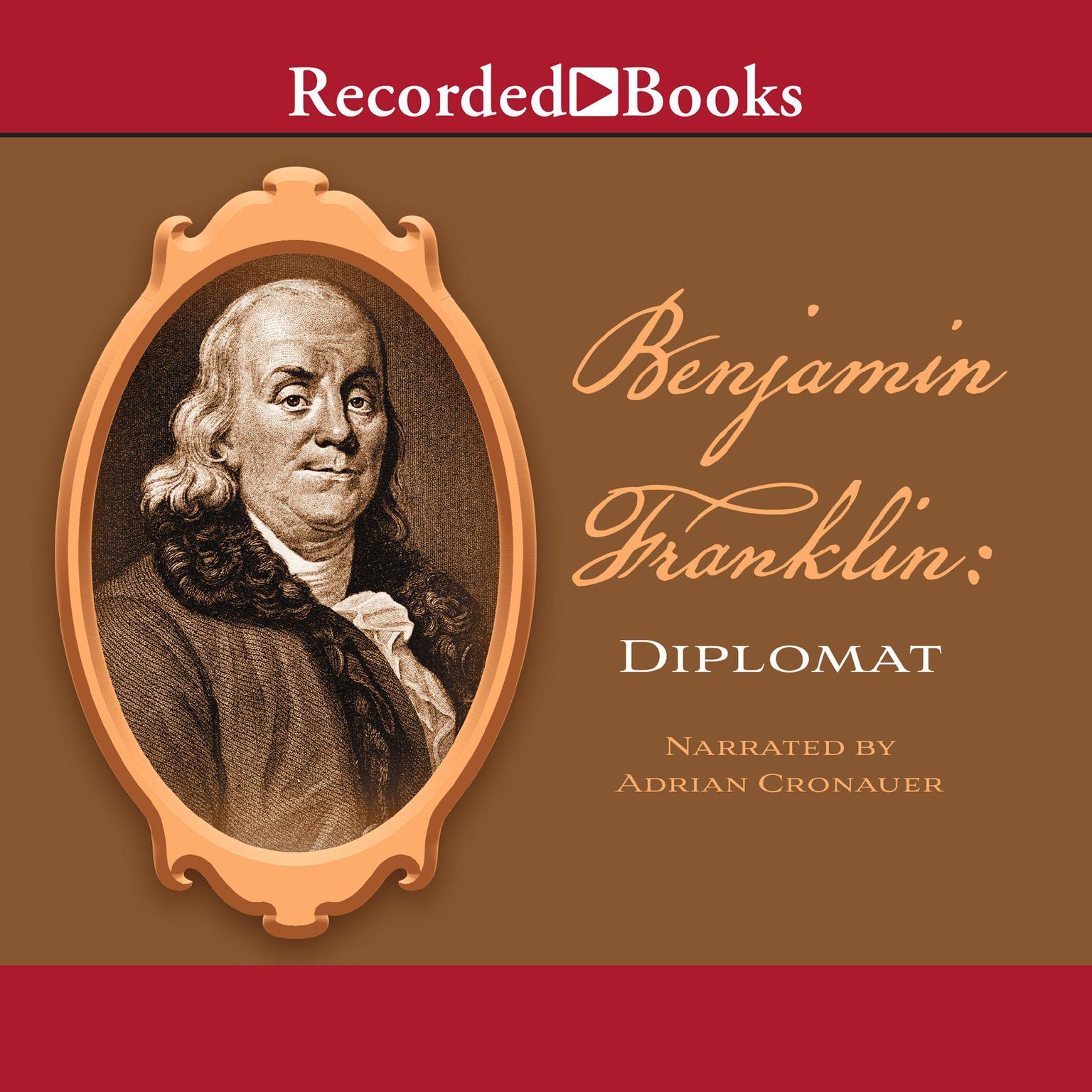 Printable Benjamin Franklin: Diplomat Audiobook Cover Art