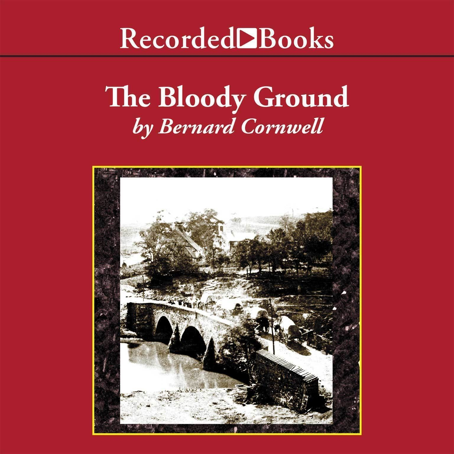 Printable The Bloody Ground: Battle of Antietam, 1862 Audiobook Cover Art