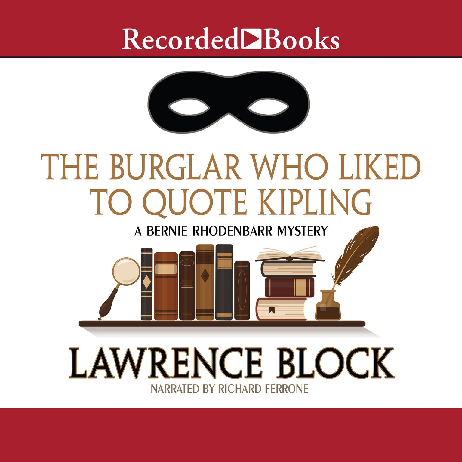 Printable The Burglar Who Liked to Quote Kipling Audiobook Cover Art