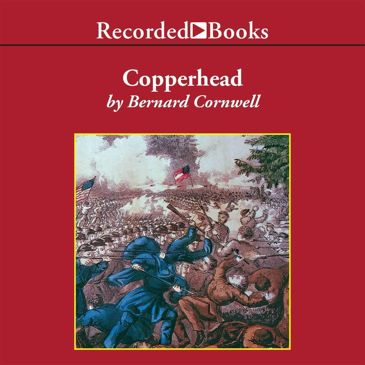 Printable Copperhead Audiobook Cover Art