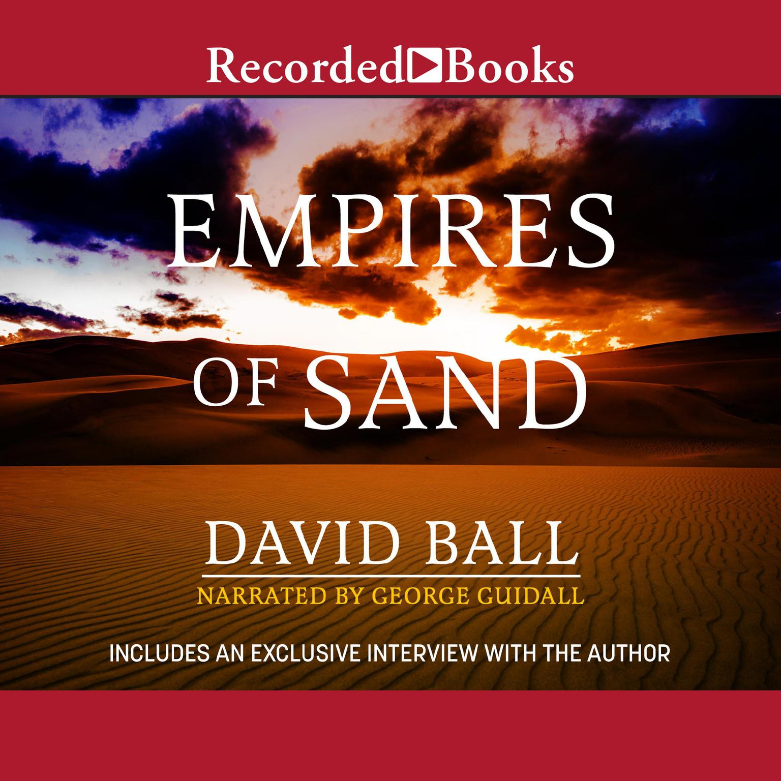 Printable Empires of Sand Audiobook Cover Art